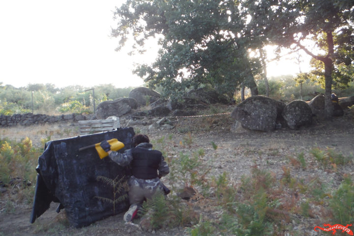 aventuvera paintball norte de Extremadura