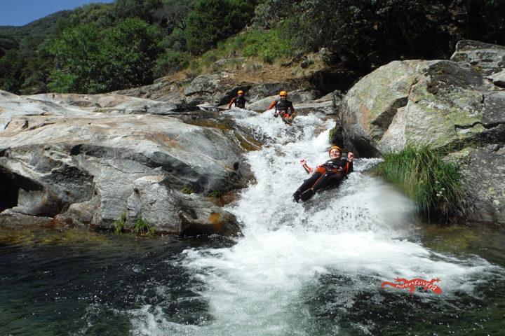 aventuvera Cáceres descenso de Cañones en valverde de la Vera