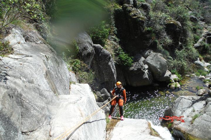 aventuvera Cáceres descenso de barrancos con saltos