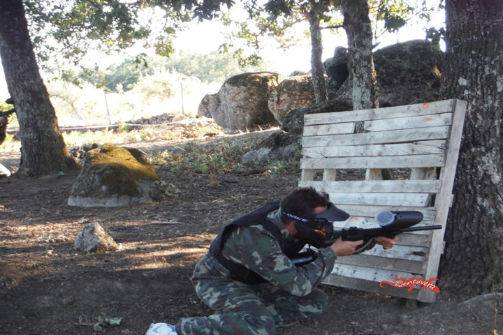 aventuvera Cáceres paintball