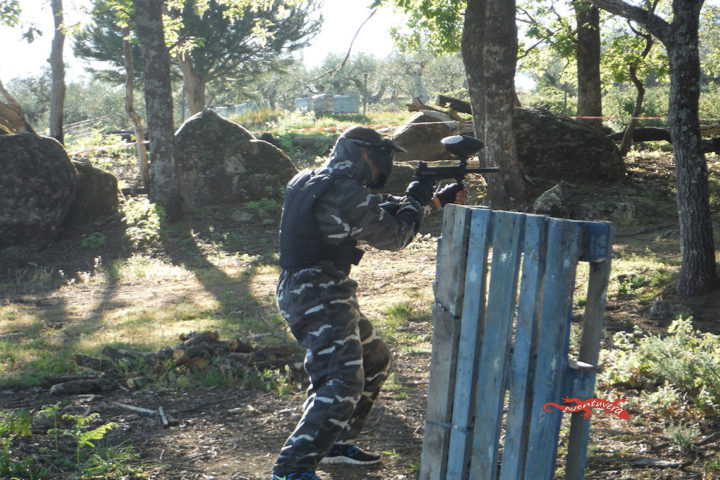 aventuvera Extremadura paintball despdidas con diversion