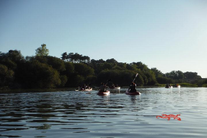 aventuvera Familia en el rio Tiétar