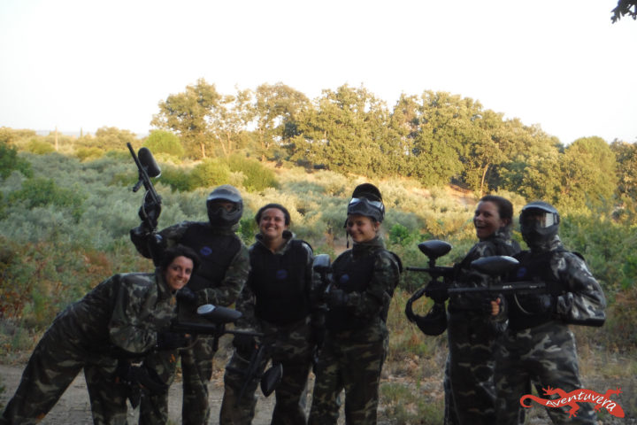 aventuvera Paintball en Cáceres