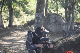 Batalla de paintball en Losar de la Vera, Cáceres